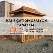 Çanakkale Hasır Çatı Dekorasyon