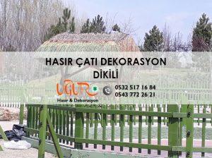 Dikili Hasır Çatı Dekorasyon