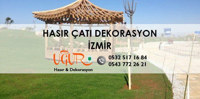 İzmir Hasır Çatı Dekorasyon